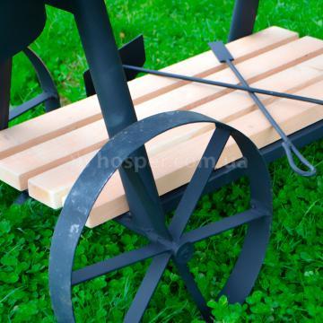 стальные колеса для комбинированного мангала