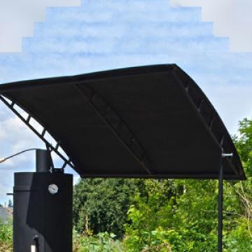 крыша для мангала смокера, которая защитит Вас от нежданного дождя