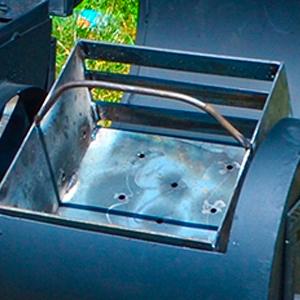 ящик для угля гриль-коптильни Оптима тройка