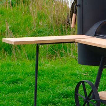 дополнительный раскладной деревянный столик