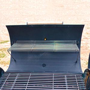 основная и дополнительная откидная решетка гриль из нержавейки для барбекю
