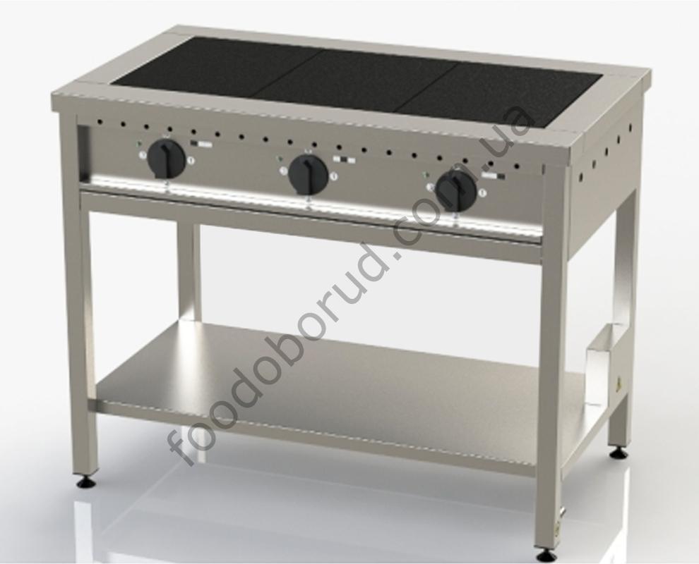 Плита электрическая промышленная 3-х конфорочная ЭП-3
