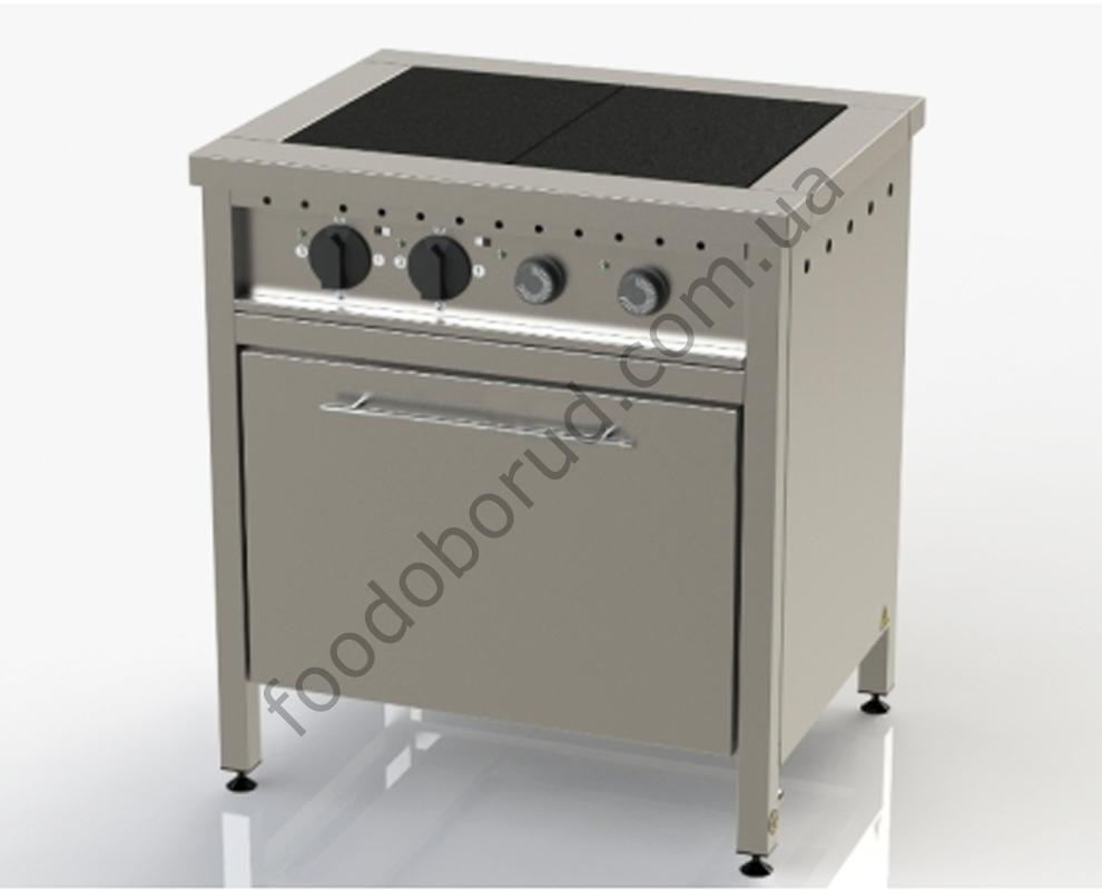 Плита электрическая промышленная 2-х конфорочная с духовкой ЭП-2Д