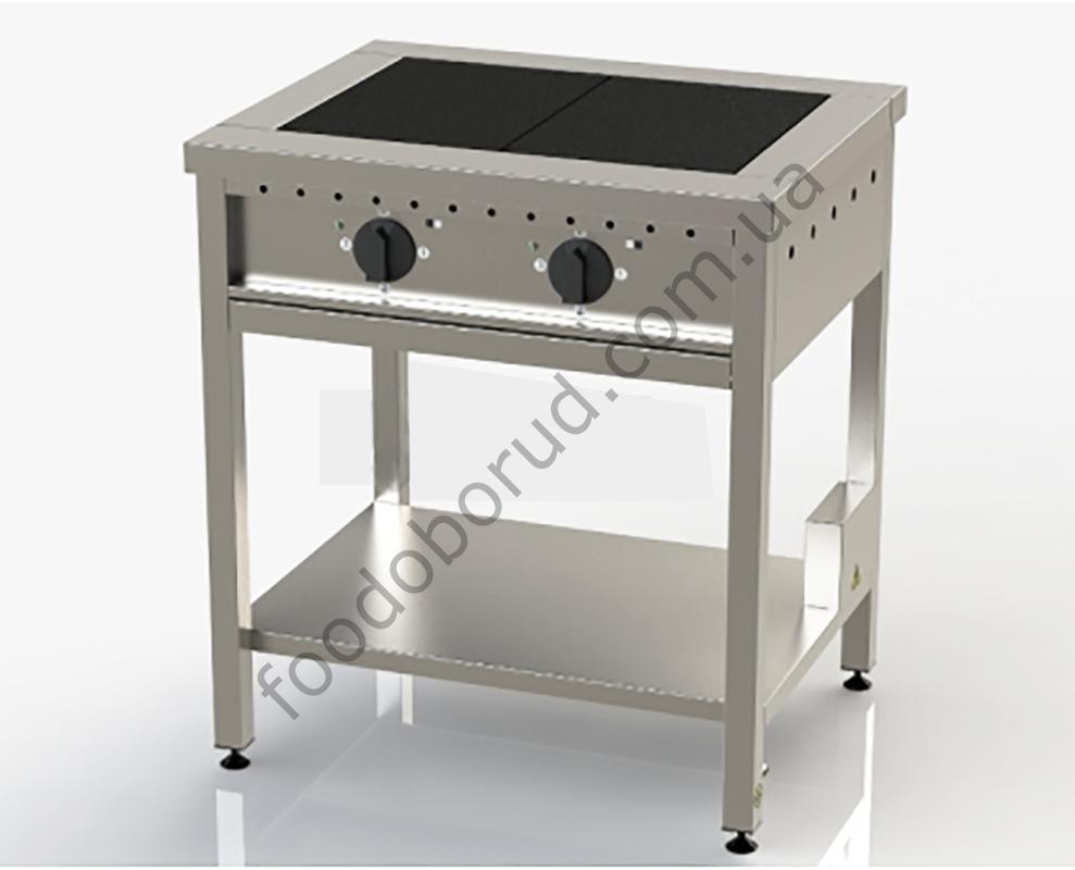 Плита электрическая промышленная 2-х конфорочная ЭП-2