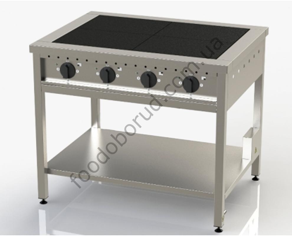 Плита электрическая промышленная 4-х конфорочная ЭП-4, ПЭ-4, ПЭМ-4-020 от производителя, купить с доставкой по Украине цена 12427 грн.