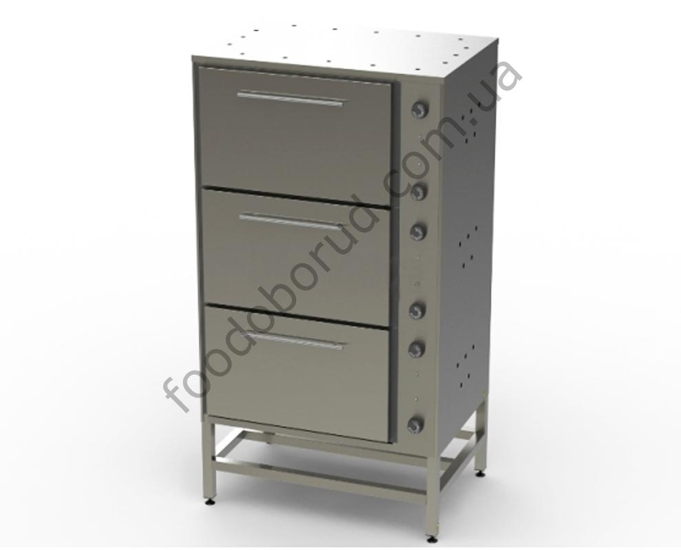 Шкаф жарочный электрический трехсекционный ШЖЭ-3 от производителя, купить с доставкой по Украине цена 14500 грн.