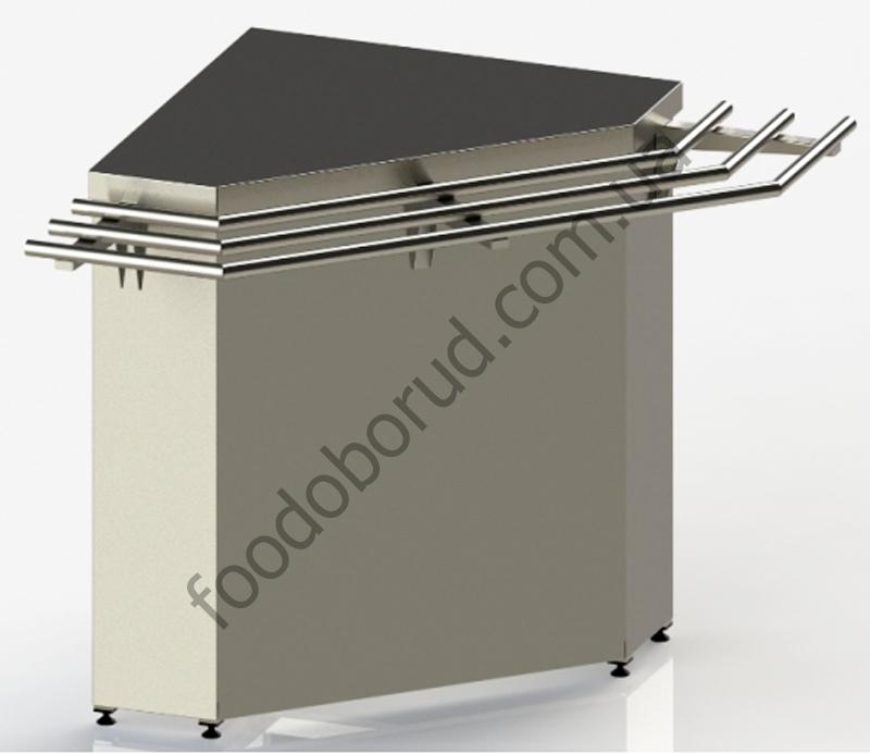 Купить внешний угловой элемент для линии раздачи питания от производителя с доставкой по Украине цена 0 грн.