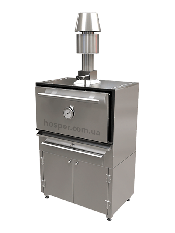 Купить комплект печь-гриль Хоспер со стендом с доставкой по gorodu цена 72700 грн.