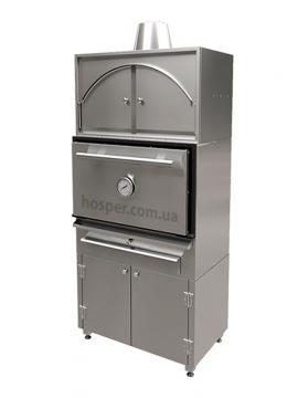 Комплект Печь Хоспер со стендом и надстройкой Хоспер NJX-25 со стендом и закрытым тепловым шкафом