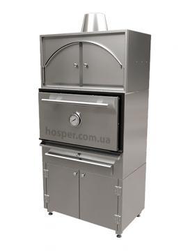 Комплект Печь Хоспер со стендом и надстройкой Хоспер NJX-45 со стендом и закрытым тепловым шкафом