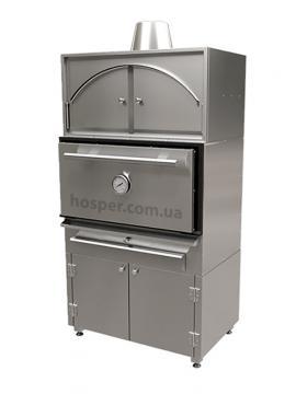 Комплект Печь Хоспер со стендом и надстройкой Хоспер NJX-50 со стендом и закрытым тепловым шкафом